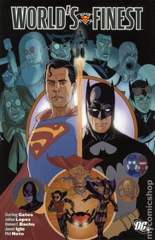 Worlds Finest TPB cover