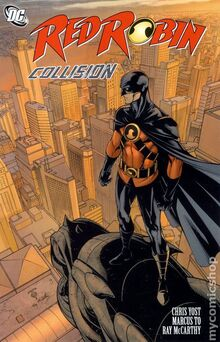 Red Robin Collision TPB cover