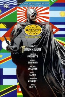 Batman Incorporated TPB cover