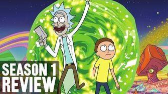 Rick and Morty Season 1 Review • 7.15
