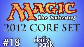 2012 Core Set MtG 18 - Daily Pack