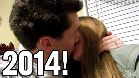 We Kissed an Entire Year! (Day 1498 - 12 31 13)
