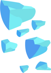 Gem Shards transparent