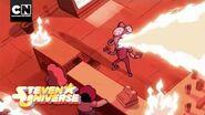 Fire Salt Donut Steven Universe Cartoon Network