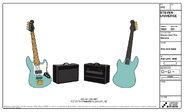Amp and Bass Model Sheet