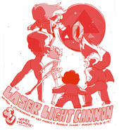 Laser Light Cannon Promo Art 2
