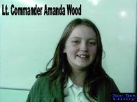 Lt Commander Amanda Wood