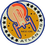 Atlantis mission patch