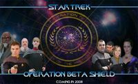 Operation Beta Shield Poster Small