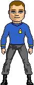 Lieutenant S. Crockett - USS Intrepid II