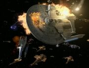 USS Majestic hit