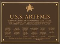 Artemis Dedication