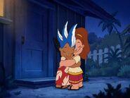 Lilo and Victoria Hug