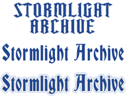 StormlightArchiveLogos