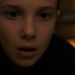 Eleven recognizing Will in a photograph.