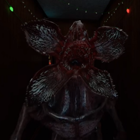 The Monster in the VR/360 Experience.