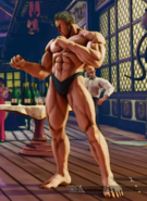 SFV Urien Secret Costume