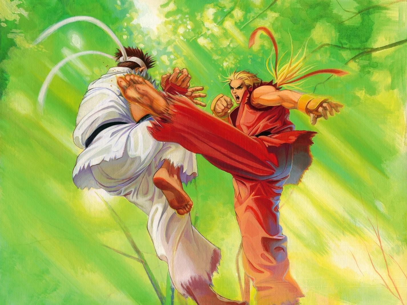 Ryu VS Ken