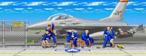 Air Force Base Guile