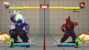 SF4 Oni vs Shin Akuma