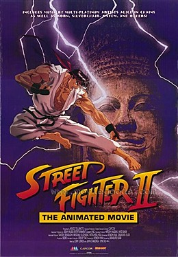 Image result for Street Fighter the animated movie