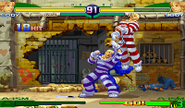Cody Super Combo Final Destruction Street Fighter Alpha 4 hit