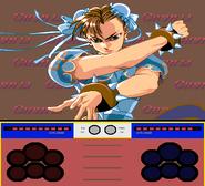 Street Fighter Ken Sei Mogura Chun-Li intro