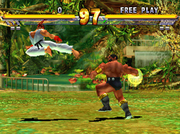 Street Fighter EX 2 screenshot