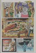 Guile Malibu comics 4