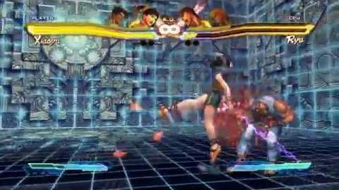 Street Fighter x Tekken Xiaoyu Super Art