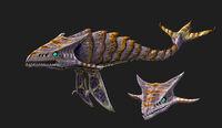 Bone Shark Concept Art