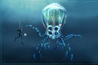 Crabsquid Concept Art