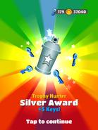 AwardSilver-TrophyHunter