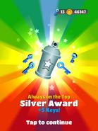 AwardSilver-AlwaysontheTop