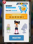WordyWeekend-Harumi