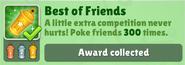 BestOfFriendsGoldAwardCollected