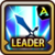 Leader Skill Attack Power (Mid) Arena Icon