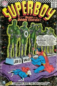 SupermanDeath-Superboy136March1967
