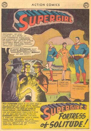 Supergirls Fortress of Solitude