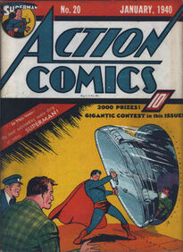 Action Comics Issue 20