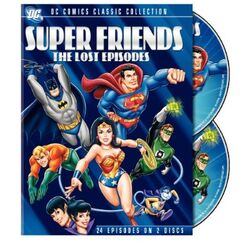 DVD - Super Friends - The Lost Episodes