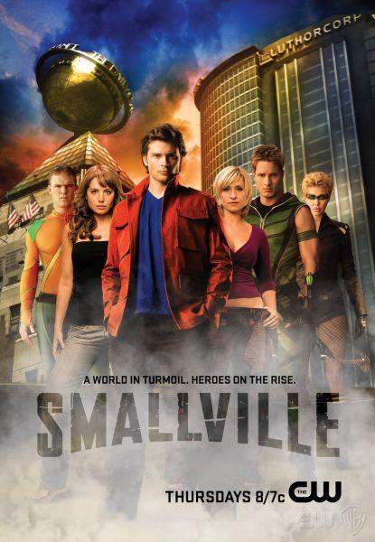 Smallville Season Villains Smallville Season 8 Poster