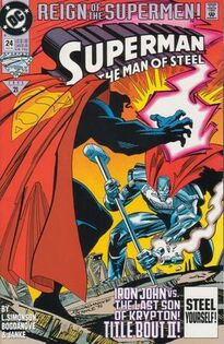 Superman Man of Steel 24