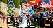 Superman marries Lois