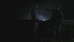 Dean shoots Lucifer