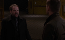 Crowley and Dean discussing about the Horn of Joshua