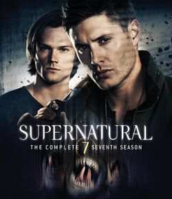 Supernatural Season 7 BRCover
