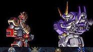 Great Battle 4- Compattible Kaiser vs X (Round 1)