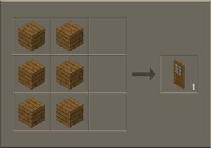 how to make a door in survival craft
