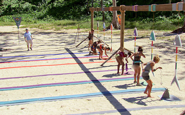 File:Survivor One World episode 13 Immunity Fish Bone Challenge Chelsea Alicia Sabrina Christina Tarzan Kim.jpg